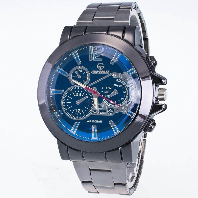 Fashion Men Motion Form Stainless Steel Sport Quartz Hour Wrist Analog Watch Malaysia