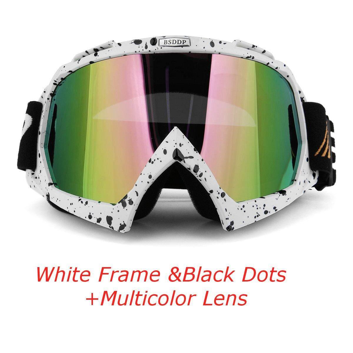 Modis Helm Motocross Kacamata Bersepeda Kacamata Kacamata Tahan Angin Ski Balap Mati-Jalan UV Kacamata