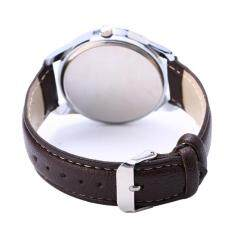 Fashion Stainless Steel Leather Mens Military Sport Analog Quartz Wrist Watch Malaysia