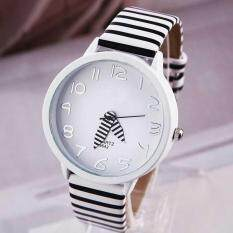 Fashion Student Watch Ladies Watches Women Zebra Stripes Watch Waterproof Quartz Watches Malaysia
