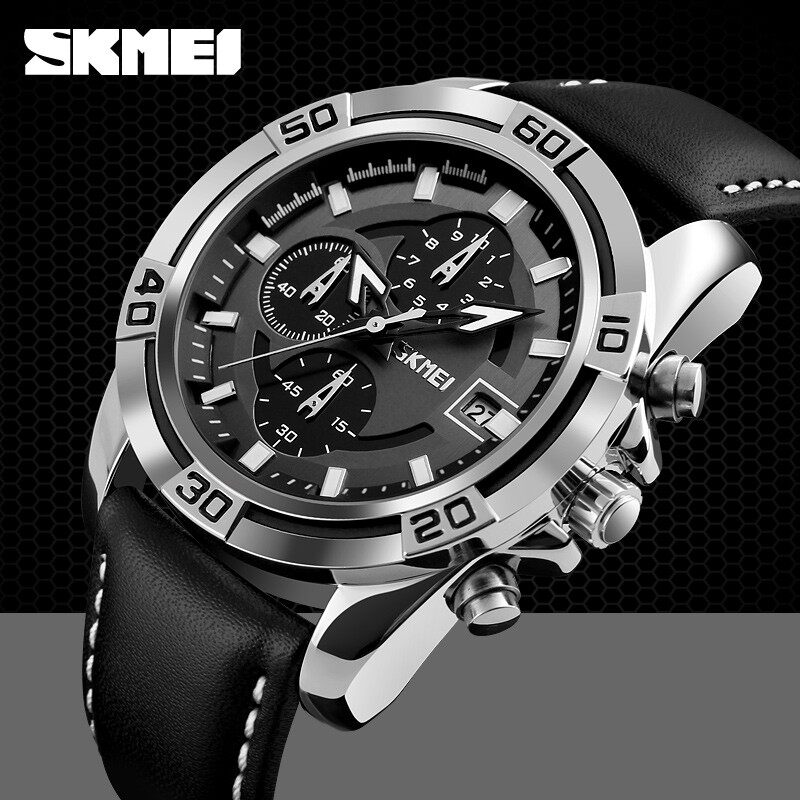 SKMEI Compass Sports Watch 1293 Men Military World Time Countdown Chrono Waterproof Digital Wristwatches Relogio Masculino