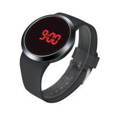 Fashion Waterproof Men LED Touch Screen Day Date Silicone Wrist Watch Malaysia