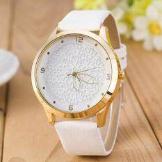 Fashion Women Men Lovers Watch Casual Stainless Steel Quartz Wrist Watch White Malaysia
