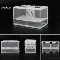 Fish Breeding Aquarium Box Net With Isolation Board Incubator Hatchery L Size By Costel.