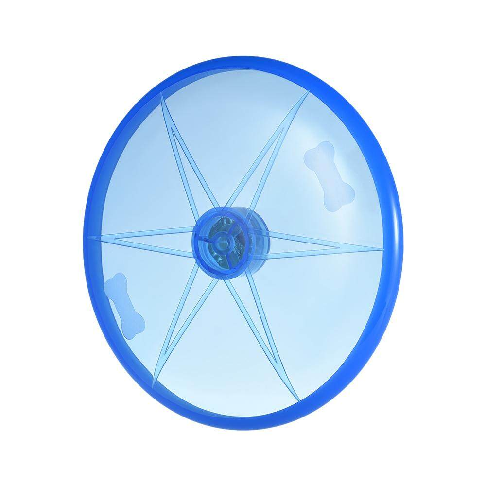 Flyer Floating Disc Flying Disk Pet Dog Toy 15cm/ 6in with LED Light for Outdoors
