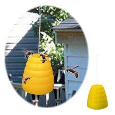 Hình ảnh Flying Hanging Wasp Trap Fly Flies Bee Bug Honey Pot Traps Catcher Poison Free