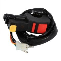 Fog Light Switch 7/8 Handlebar On/off Button Headlamp Horn Flameout Switch Motorcycle Motor By Qilu.
