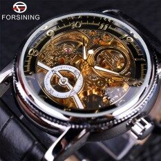 FORSINING Classic Automatic Watch Men Alloy Case Real Genuine Leather Strap Watches Luxury Brand Wristwatche Malaysia