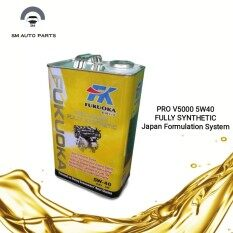 Fukuoka Pro V5000 Fully Sythetic Engine Oil 5w40 (4 Litre) By Sm Auto Parts.