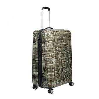 b665b8b588b ful Luggage Woven 20 inch Expandable Spinner Rolling Luggage Suitcase, Hard  Case, Gray