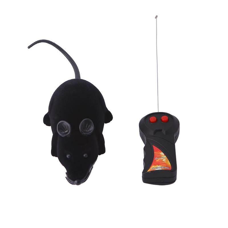 Lucu RC Jarak Jauh Pengendali Nirkabel Tikus Mouse Mainan untuk Hewan Peliharaan Kucing Anjing Mainkan Mencolok