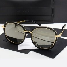 aa7768dac32 Gentle Monster Fashion Design Women Men Sunglasses Unisex Sunglasses UV400  Polarized fashion gift(GOLD)