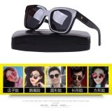 a7ef94b3e1e Gentle Monster Fashion Design Women Men Sunglasses Unisex Sunglasses  fashion gift(black)