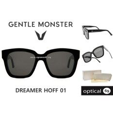 d7bb6282b6b Gentle monster Dreamer hoff 01 black Malaysia eyeglasses lens glasses