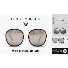 666cc3714202 Gentle Monster MAD CRUSH 01 (2M) Black acetate Malaysia eyeglasses lens  glasses