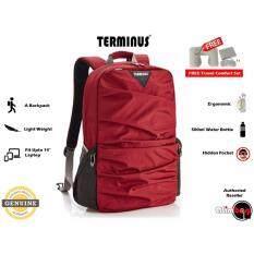 eb45f7897fab Genuine Authentic Terminus Laptop Backpack Laptop Bag Terminus Wrinkle 2.0  Fashion Lifestyle Anti-Thief Travel