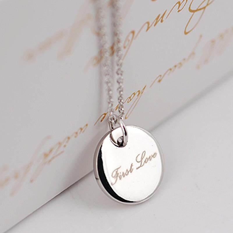 Kemstone Top Kualitas Pertama Love Rose/Putih Berlapis Emas Liontin Kalung Hadiah untuk Perempuan Gadis-Intl