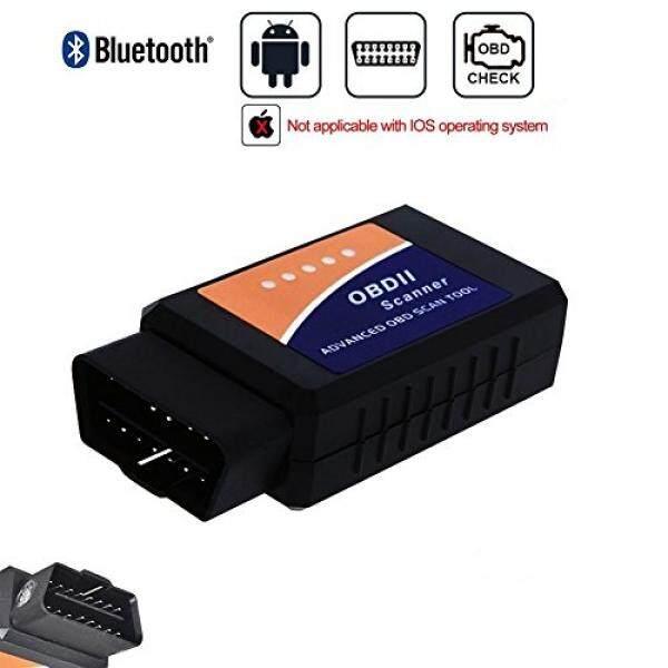 Golvery Mobil Bluetooth OBD OBD2 OBDII Diagnostik Scan Alat, Mini Nirkabel OBD Pemindai Adaptor, lampu Mesin Cek Kode Masalah Diagnostik Pembaca untuk Kebanyakan Kendaraan, untuk Android & Jendela SmartPhone/Buah-Internasional