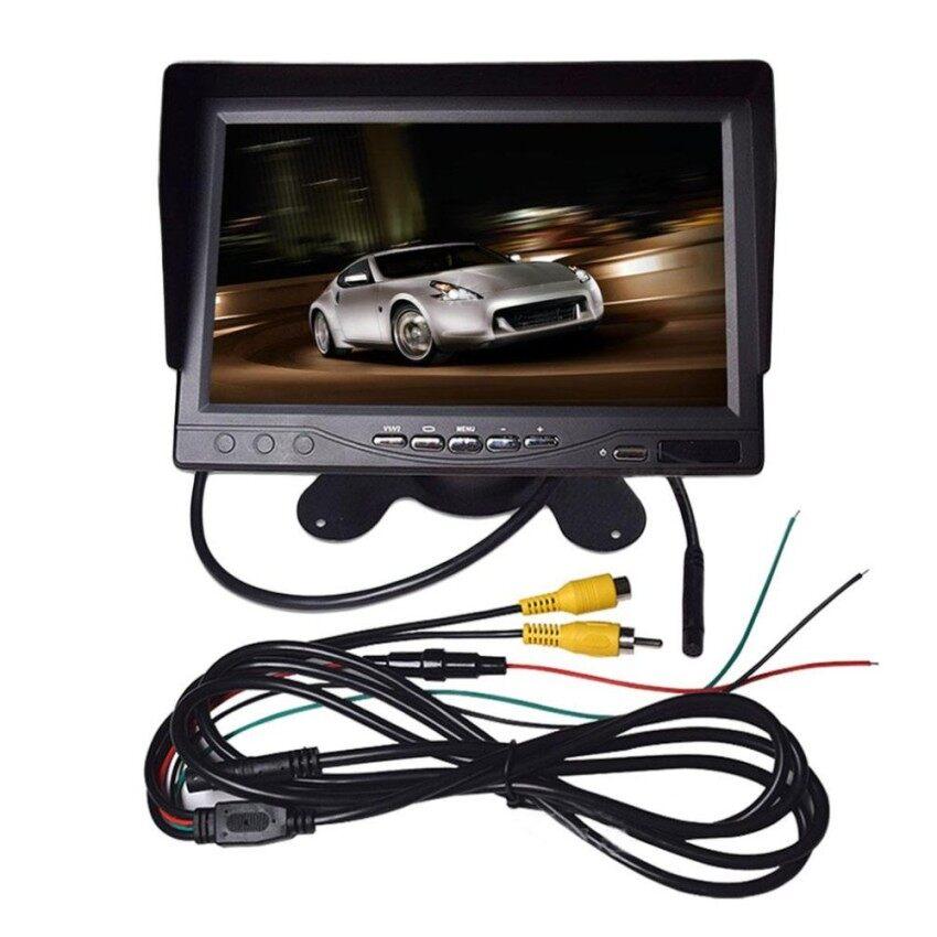 Portabel YANG BAGUS 7 LCD Digital Warna Layar Monitor untuk Mobil Belakang Viewwith Sunvisor-Internasional