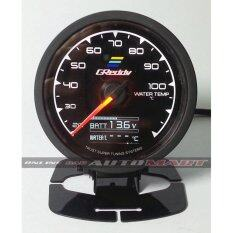Greddy Water Temp Multi D/a Dauge 7 Colour Display Universal Fit + Battery Volts By Online Car Accessories.