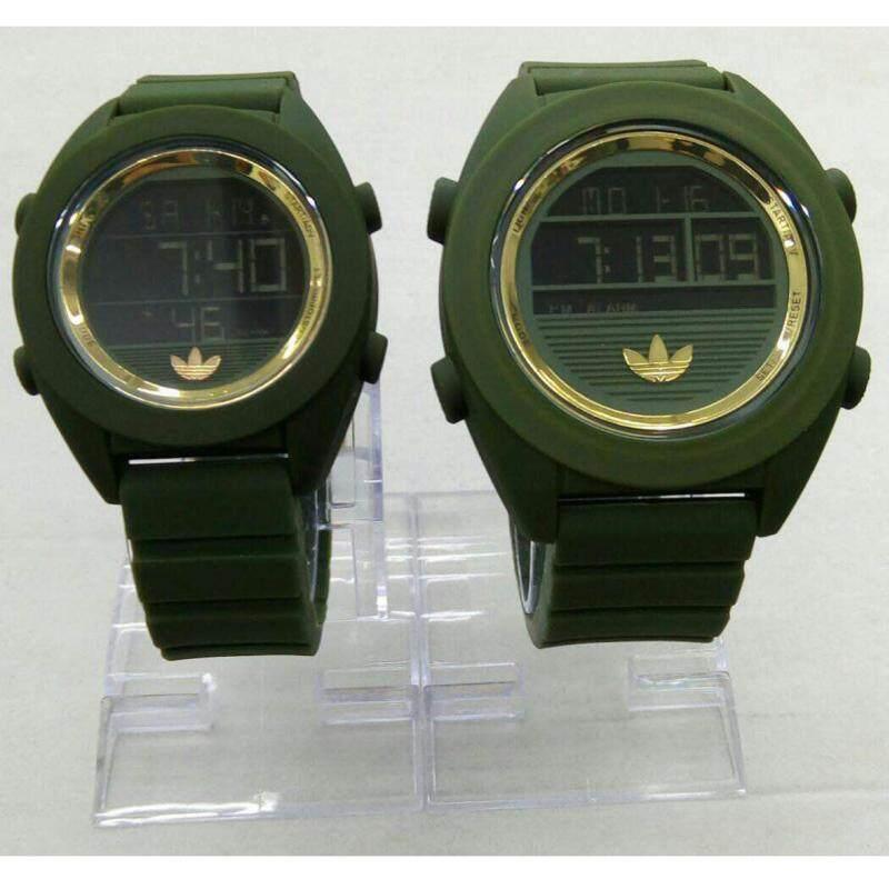 Green + Gold Couple Watch Adidas Malaysia