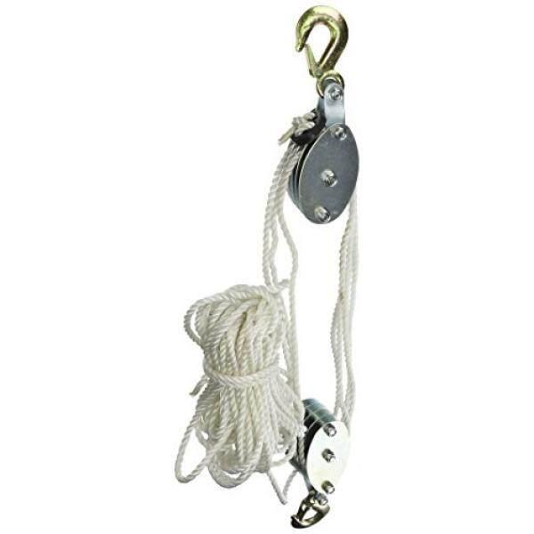 Grip 18095 2-Ton Rope Pulley Hoist - intl