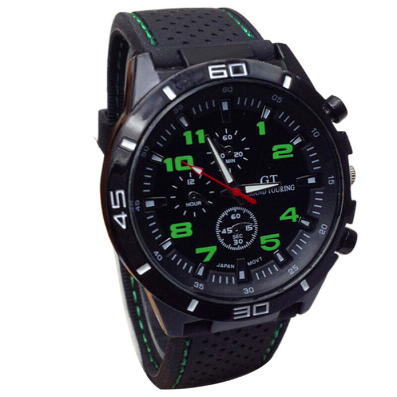 GT Grand Racing Men Fashion Cool  Sports Watch(Green) Malaysia