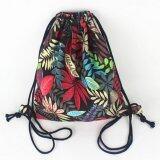 Jettingbuy Gym Drawstring Backpack Canvas Draw String Bucket Bag PE Travel  Shoulder Bags TT Red  cc1090c083196