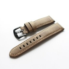 Handmade Horse Leather Watch Strap Natural 20 22 Mm Suitable SAMSUNG GearS3 S4 Watch Strap Soft Vintage Style Malaysia