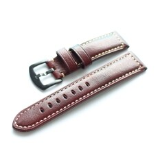Handmade Horse Leather Watch Strap 20 22 Mm Suitable SAMSUNG GearS3 S4 Watch Strap Soft Retro Style Malaysia
