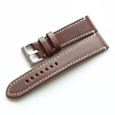 Hand-made Leather Watch Strap Soft Retro MENS Watch with 18 Size 19 20 21 22 Mm Cow Leather Watch Strap Malaysia