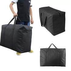 Handy Storage Bag Extra Large 100l Waterproof Heavy Duty 600d Oxford Jumbo Storage Bag With Web Handle,bedding Underbed Storage Bag,blankets Duvet Travel Luggage Laundry Organizer-Size 85*55*33cm,black By Vzd Shop.