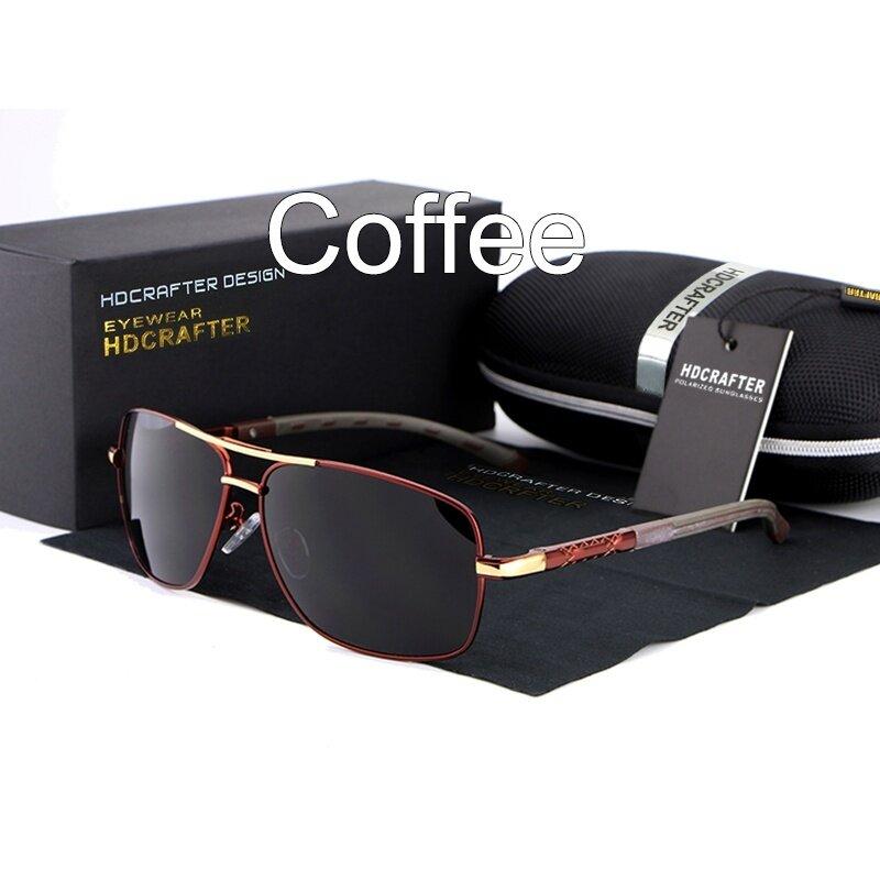HDCRAFTER 2017 Hot Selling Perancang Merek Sunglasses Pria Terpolarisasi  Mengemudi Outdoor Sport Sun Kacamata untuk Pria 5a2413d1b0