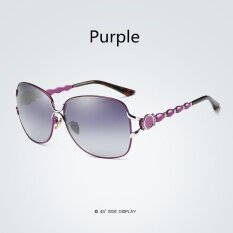 66764e817545 HDCRAFTER Female Big Round Sunglasses Brand Designer Oversized Polarized  Sun Glasses for Women Driving lunette de