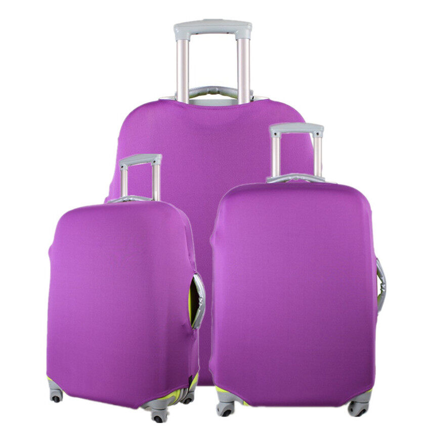 TTW Luggage Protector Elastic Suitcase Cover Bags Dust-proof Case 24 Purple