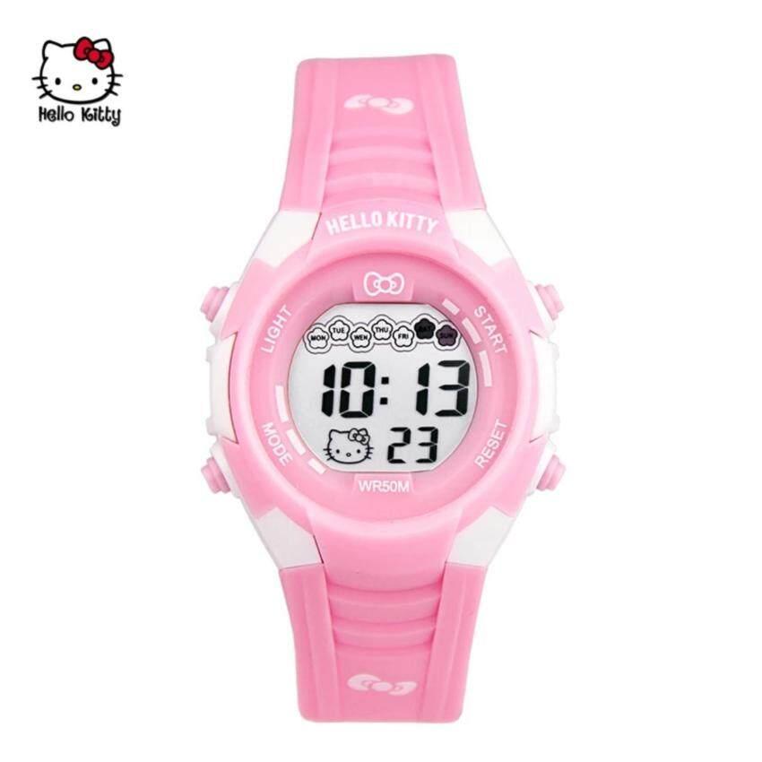 Hello Kitty Sporty Digital Watch HKSQ3046-01A (pink)
