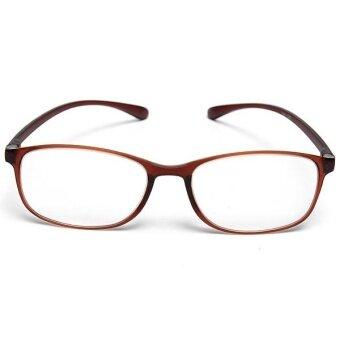 High-grade Resin Frame Reading Glasses Super-toughness TR90 Unisex Eyewear +3.0