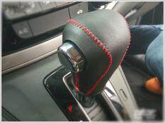 (red Line)for Honda Crv Cr-V 2007-2011 At Handmade Leather Gear Sets Shift Rod Cover By Chenjidexin.
