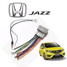 Honda Jazz 2014-2017 Oem Plug And Play Socket Cable Player Socket + Antenna Socket By Car Online Automart.
