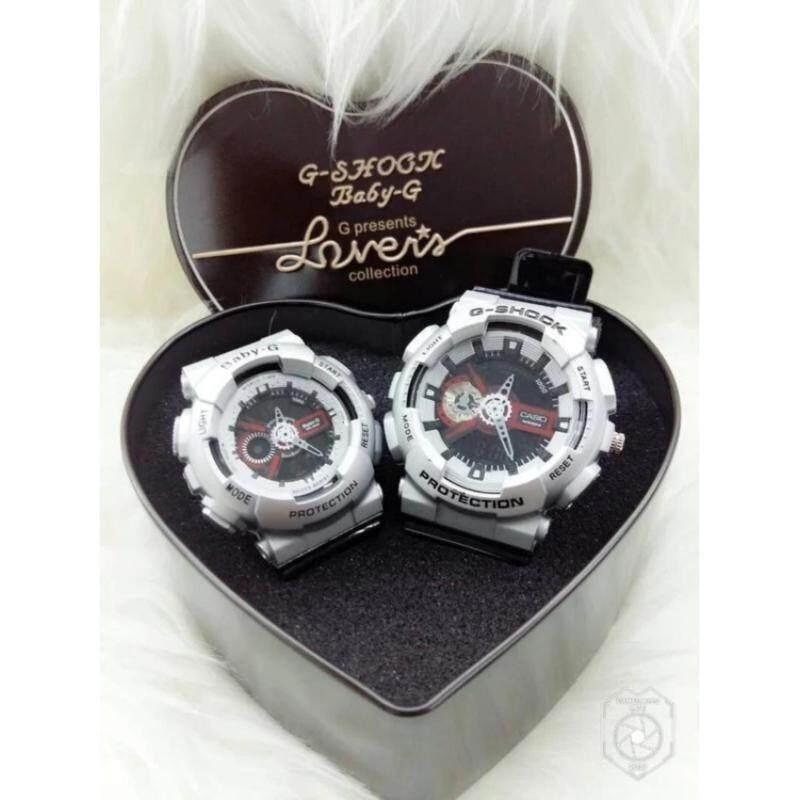 [HOT ITEM] GShck Couple Watch Grey Malaysia