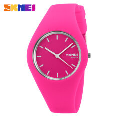 Hot Sale Boy and Girls Fashion Color Sports Silicone Waterproof Wrist Watches-Hotpink Malaysia