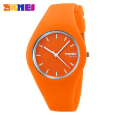 Hot Sale Boy and Girls Fashion Color Sports Silicone Waterproof Wrist Watches-Orange Malaysia