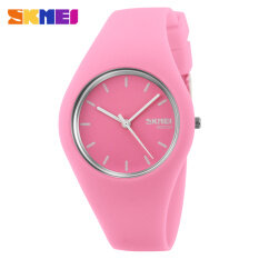 Hot Sale Boy and Girls Fashion Color Sports Silicone Waterproof Wrist Watches-Pink Malaysia