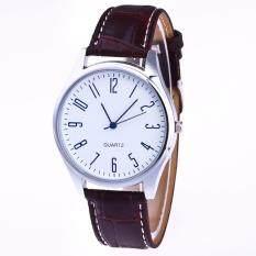 Hot Sale!Fashion Men Casual Luxury Watch Leather Band Quartz Wrist Business Watch WH Malaysia