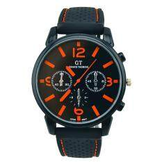 Hot Sale!Men Fashion Stainless Steel Sport Cool Quartz Hours Wrist Analog Watch OR Malaysia