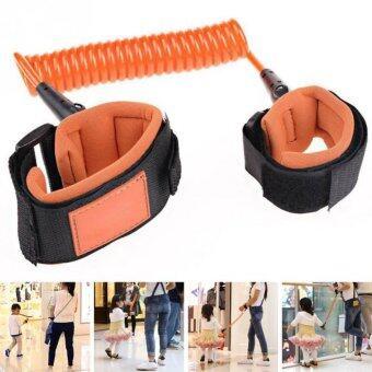 1.5M Kids Anti-lost Wrist Link Band Bracelet Wristband Baby Harness Leash Strap (