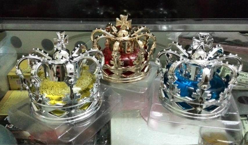 Imperial Parfum Mobil Kursi dengan Mahkota Parfum Dekorasi Mobil-Intl