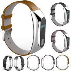 Nơi bán Luxury Genuine Leather Watch Strap Bracelet Wrist Band For Xiaomi Mi Band 2