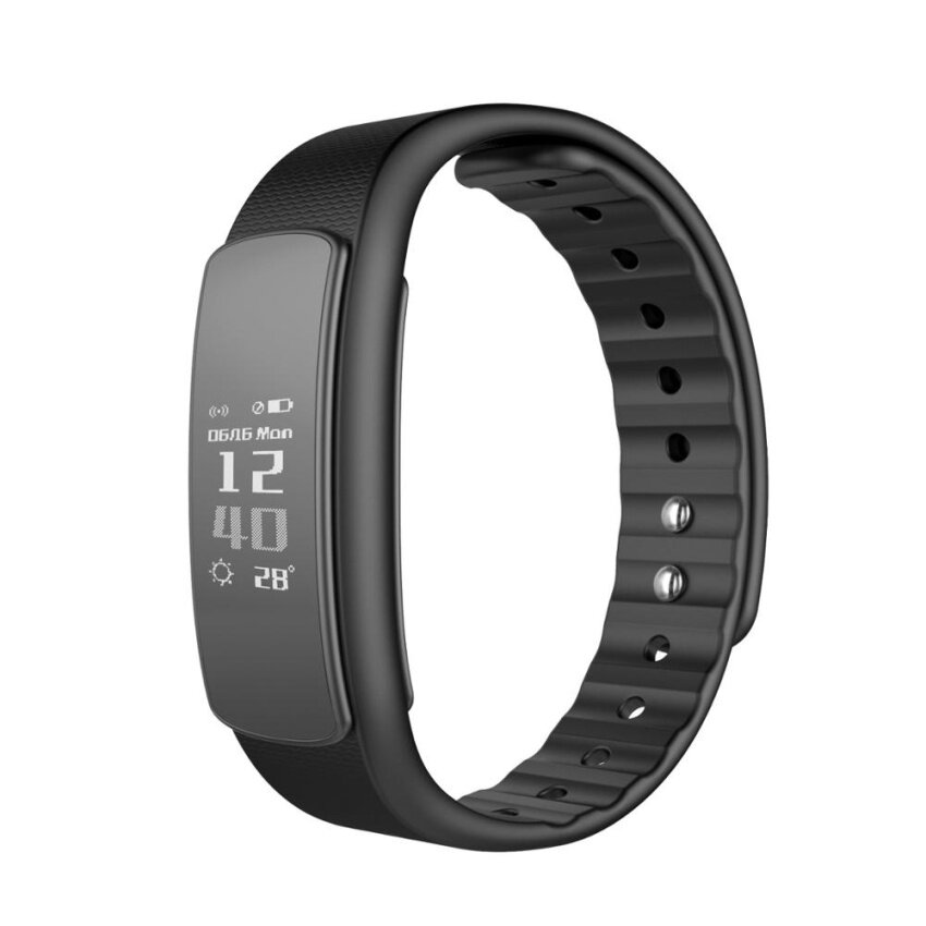 iWOWNfit i6 Pedometer Sleep Monitoring Sendentary Remind Fitness Tracker Activity Smart Wristband 9520 - intl