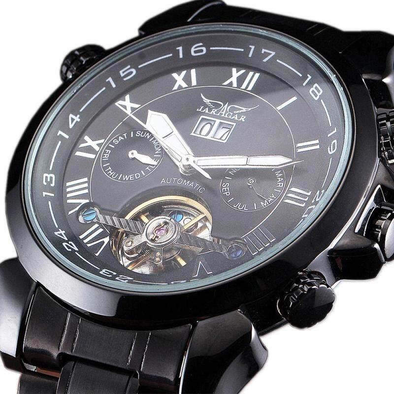 JARAGAR Men Multi Function Automatic Mechanical Watches Tourbillon Stainless Steel Fashion Male Wrist Watches relogio masculino Malaysia